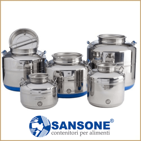 Stainless Steel Fusti Drums